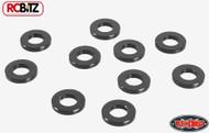 1mm Black Spacer with M3 Hole 10 Washer Shim RC4WD Z-S0809 RC Hardware G2