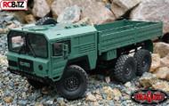 RC4WD Beast II 6x6 Military Truck RTR GREEN Z-RTR0028 Assembled Muli Axle RC