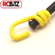 Pair 2 Small Scale Scaler Bungee Cords Tie Securing Straps 130 [Yellow]