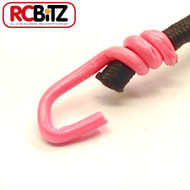 Pair 2 Small Scale Scaler Bungee Cords Tie Securing Straps 130 [Pink]