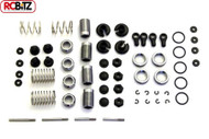 Carisma GT14 Aluminum Adjustable Oil-Shock Kit CA14534 Oil Required