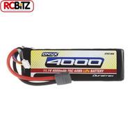 LiPo Onyx 3S 11.1V 4000mAh 25C Soft Case Star Plug Deans 3 S DTXC1868