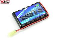 Voltz Hobby Engine 7.2V 2000mah Flat AA Battery Pack w/ Mini Tamiya Plug VZ0065