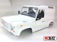 1/10 Land Rover D90 VAN Hard Plastic Body Kit AMAZING Detail & INTERIOR G2 Box