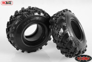 """Flashpoint Military Offroad 1.9"""" Tyres RC4WD with Foams Great sand mud Z-T0082"""