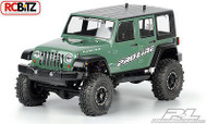 Jeep Wrangler Unlimited Rubicon Clear Body 3336-00 Axial SCX10 Honcho decal mask