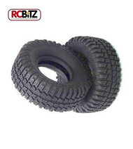 """Dick Cepek 1.9"""" Mud Country Scale wide Tire Small scale tyre Watch Video CLASS 1[TWO Tyres]"""