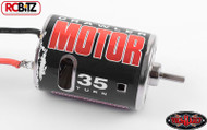 540 Crawler Brushed Motor by RC4WD CHOOSE 35 45 55 65 or 80T Bullet Connectors[35T Z-E0005]