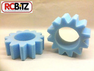 STAR CUT Foam Tire Inserts 2 to help improve traction for 1.9 RC Wheels eg Axial