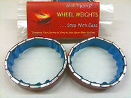 "rcBitz Wheel Weights 75g a 1.9"" Wheel eg Axial SCX10 Dingo balance battery wait"