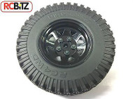D90 Gelande 2 II G2 Spare Wheel & Tyre Tire Black 5 lug Waggon Wheel Dirt Graber