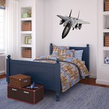 F15 EAGLE Air Force  AIR FORCE Airplane Wall Decal