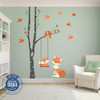 Baby Fox Wall Decal Woodland Nursery www.AmeriDecals.com