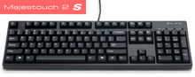 Majestouch 2 S Filco 104-key Black mechanical keyboard, Pink Switch