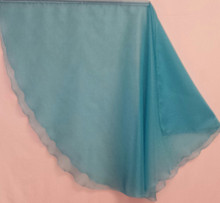 Turquoise Blue Translucent Wing Flags. Sold in sets of two. Available in three sizes.