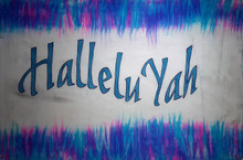 HalleluYah with border