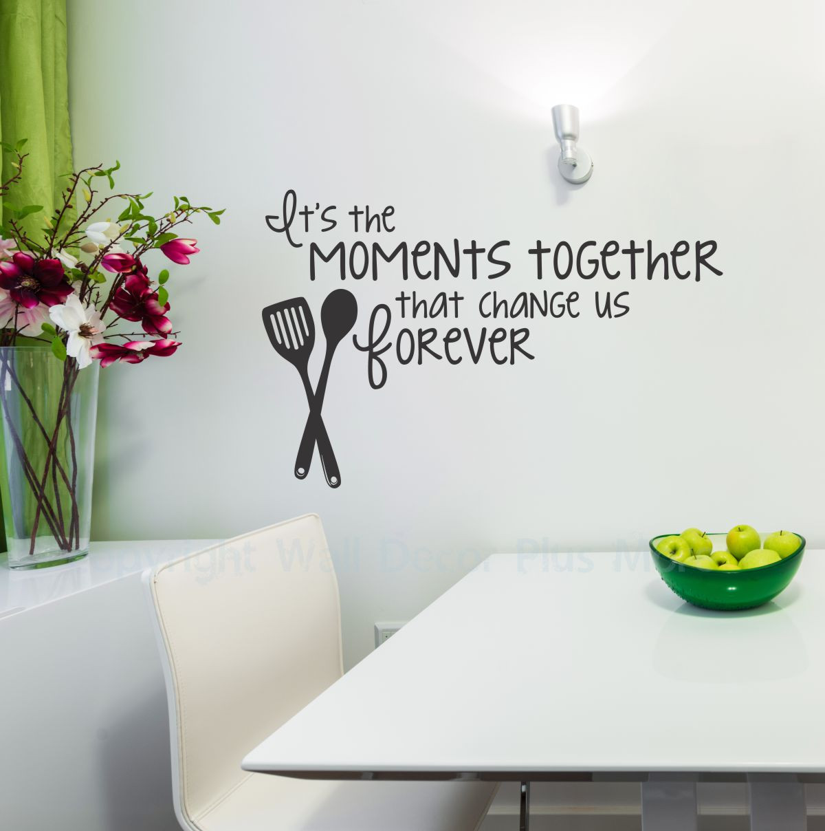 Custom Kitchen Quote Vinyl Wall Lettering Decor Sticky