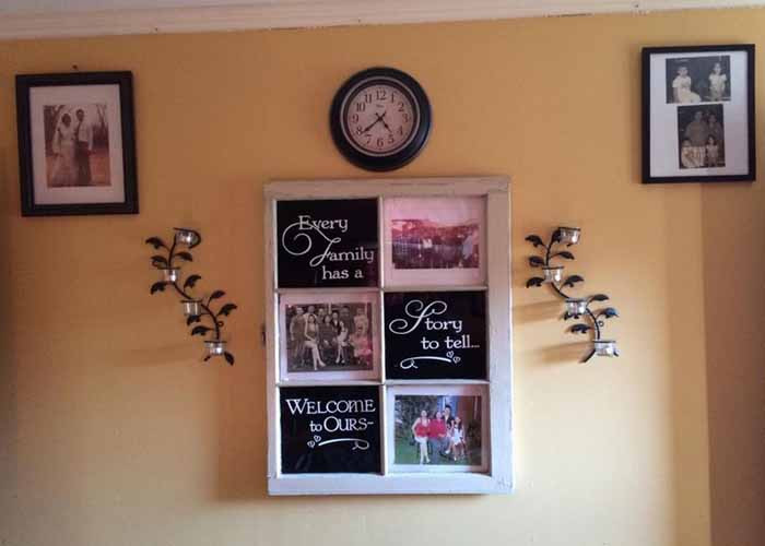 Every Family Has A Story To Tell Welcome To Ours Wall