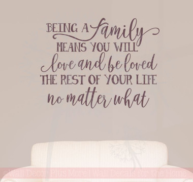 Family S Love Rest Of Your Life Family Wall Stickers Vinyl