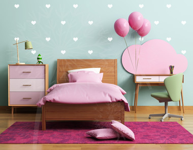 bedroom colors decor 2 inch hearts wall vinyl stickers 28pc 10352