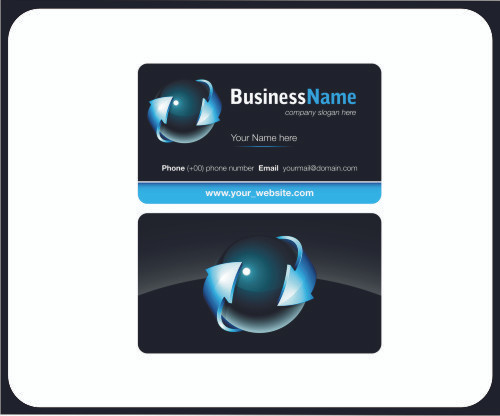 Business Cards W Rounded Corners Signrex