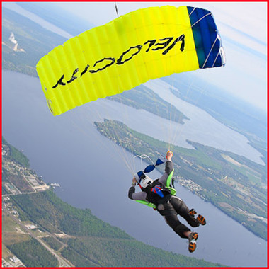 Image 1  sc 1 st  Skye Gear - Skying Gear & Performance Designs Velocity Parachute for Skying