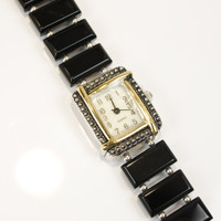 Black Onyx Quartz Watch