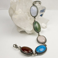 Multi-Gem Bracelet