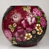 Millefiori Flower Vase
