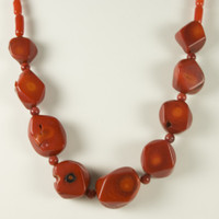 Red Sea Coral Necklace