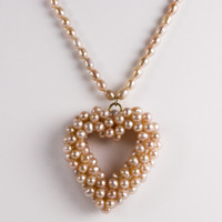 Freshwater Cultured Pearl Heart
