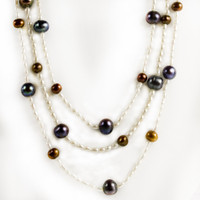 Freshwater Cultured Pearls 58""