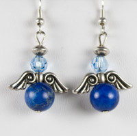 Blue Angel Earrings