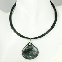 Black Labradorite Pendant SOLD