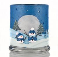 Starry Night Snowmen