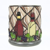 Wine Lovers Candleholder