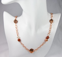 Copper and Carnelian - SOLD