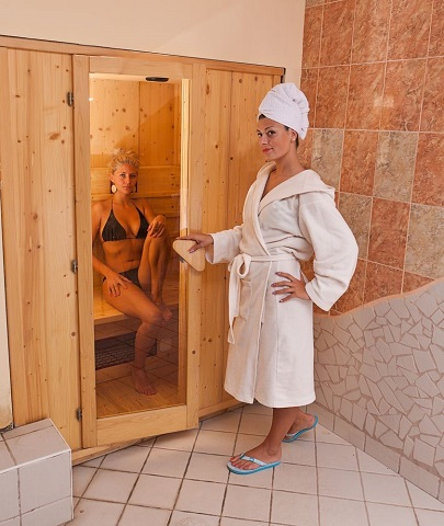 A Home Sauna with Far Infrared Capability Will Save You Cleaning Time