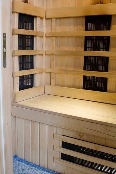 A Newly Installed Far Infrared Sauna Ready for the Family to Enjoy