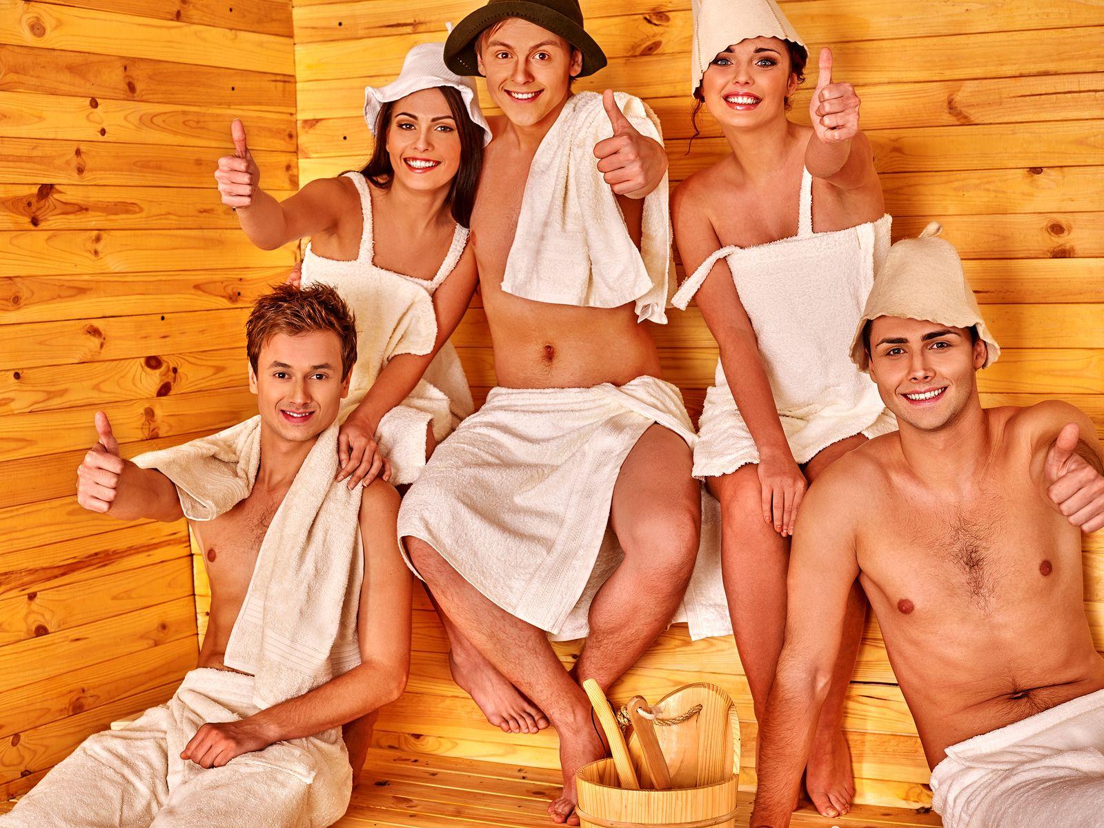 глупости, молодости групповые развлечения в русской бане устроила
