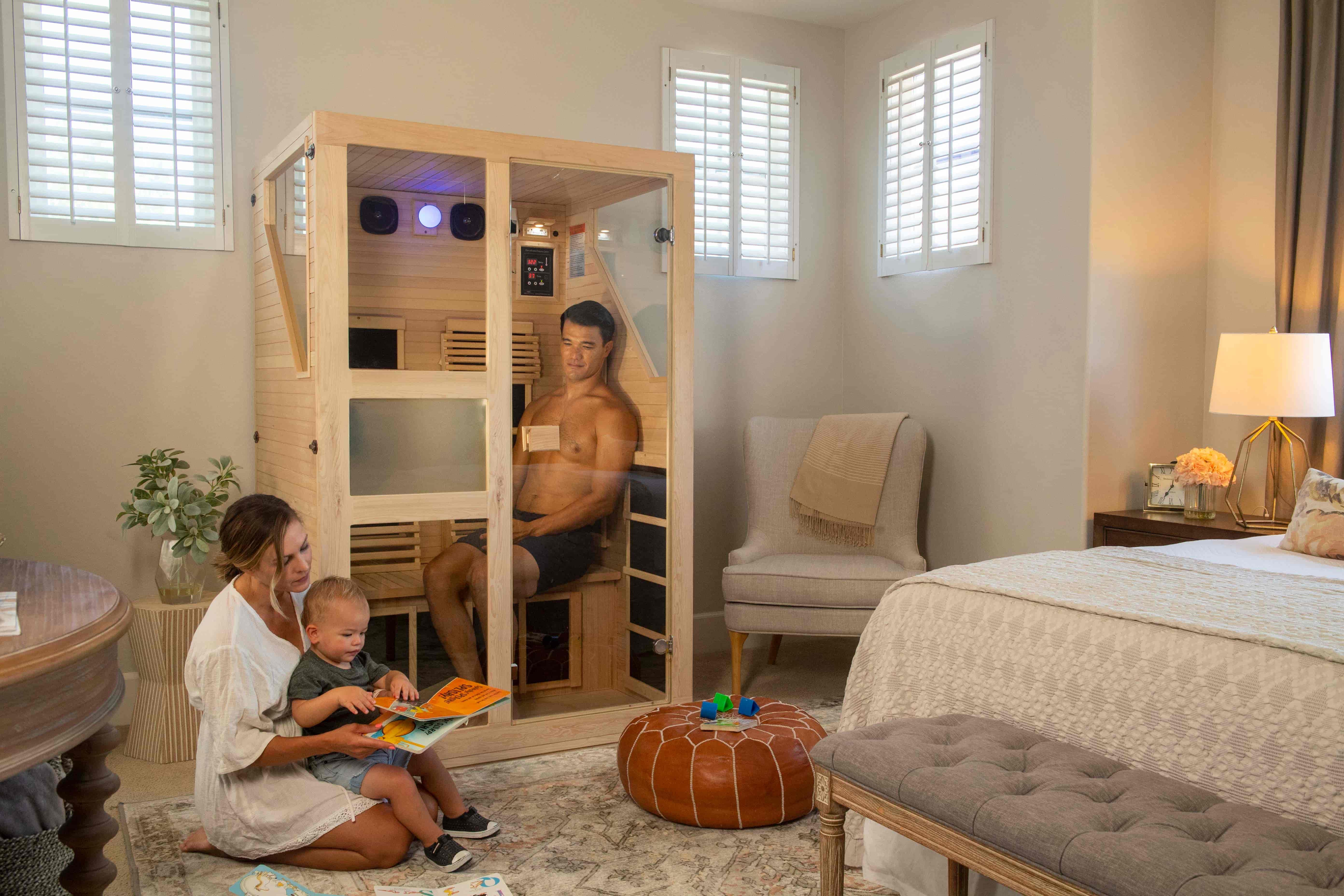 Ensi 2 Person Ultra-Low EMF Infrared Sauna
