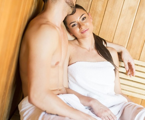 Turn Up the Romance with Your Partner in a Two-Person Infrared Sauna