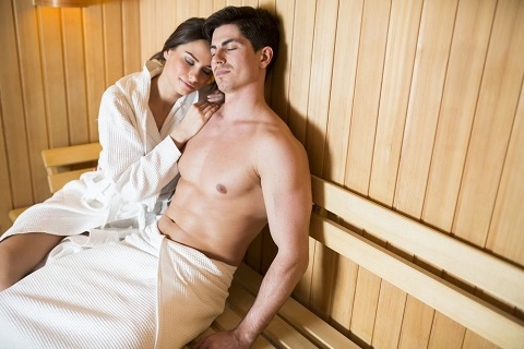 Shared Sessions in Far Infrared Saunas Promote a Couple's Intimacy