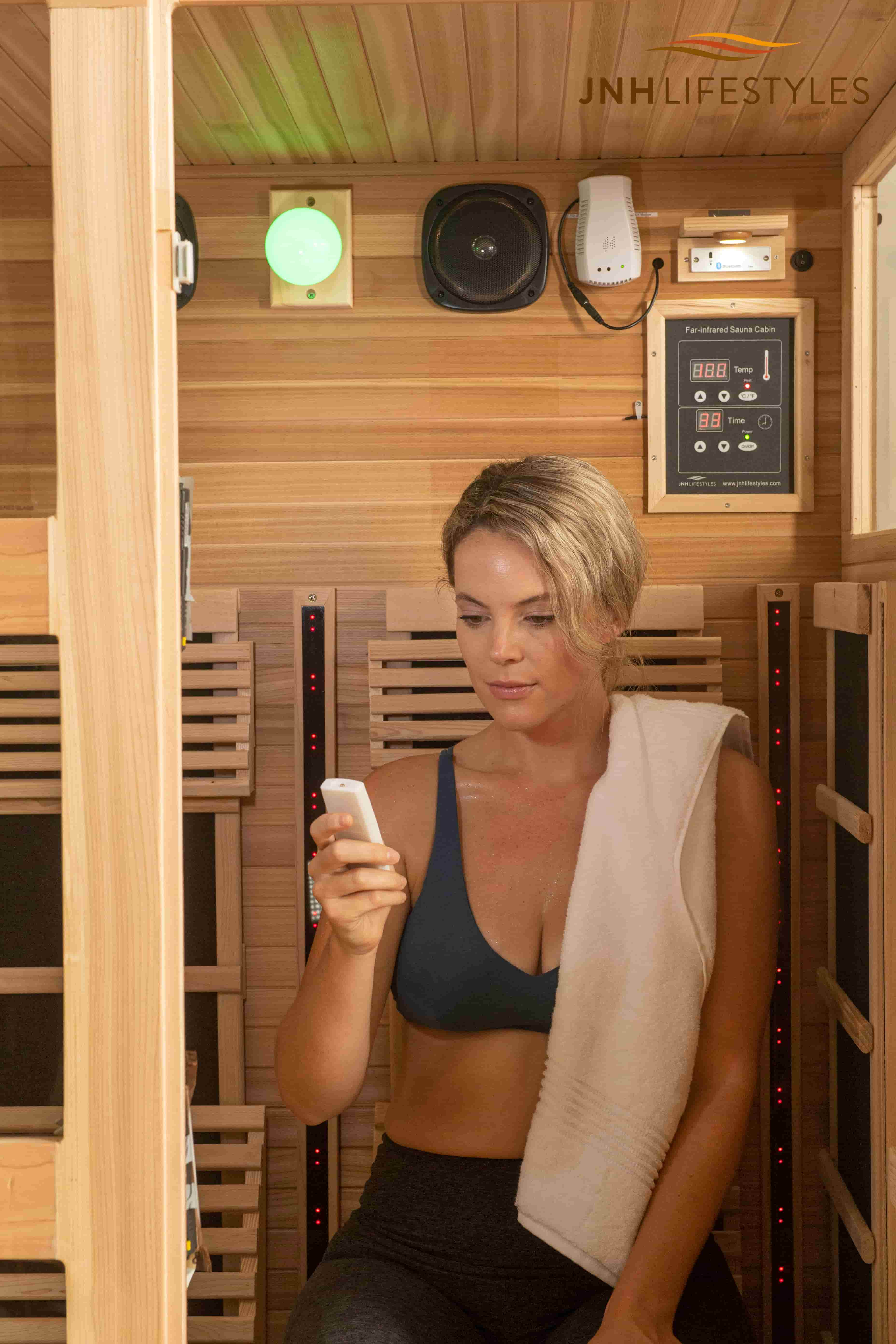 Tosi 2 Person Full Spectrum Infrared Sauna
