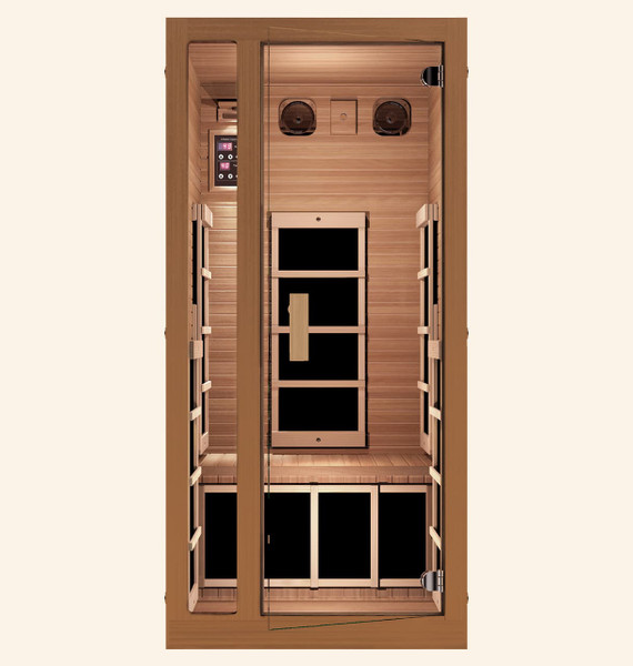 Freedom 1 Person Far Infrared Sauna, Healthy Heart Sale - Save $600
