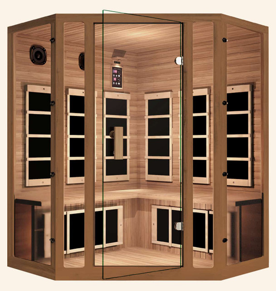 Freedom Corner Far Infrared Sauna, Healthy Heart Sale - Save $1,700