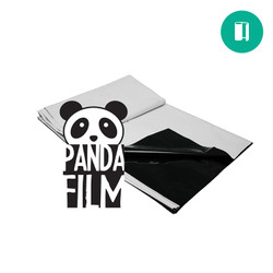 Improve your lighting efficiency with durable, 5.5mil thick black and white Panda Film. The white surface of our Panda Film reflects 90% of light omitted and the black surface prevents any light from penetrating through. The heavy-duty waterproof film also helps prevent algae and mold growth on walls. Case quantity is 4.