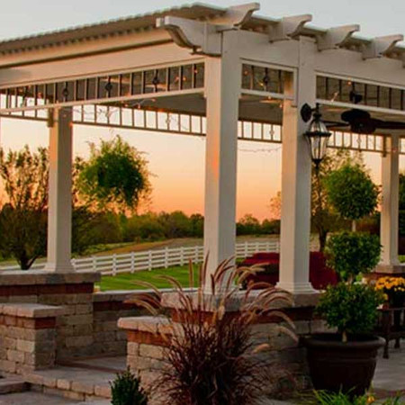 Homestead Furniture. Compare. Vinyl Pergola | Mount Hope Fence In Amish  Country, Ohio