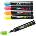 Expo Dry-Erase Fluorescent Neon Markers - Set of 5 bullet-tip