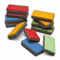 Multi Coloured Whiteboard Mini Erasers (Set of 12)